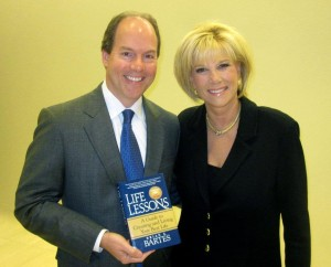 Brian Bartes with Joan Lunden